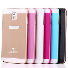 For Samsung Galaxy Note Etuier Andet Bagcover Etui Helfarve Akryl for Samsung Note 3