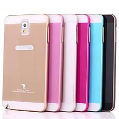 Varten Samsung Galaxy Note kotelot kuoret Other Takakuori Etui Yksivärinen Akryyli varten Samsung Note 3