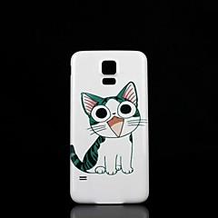 Samsung Handy - Samsung S5 i9600 - Rückseitige Hülle - Grafik/Spezielles Design Plastik )