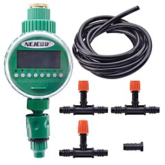 NEJE Electronic LCD Garden Water Timer Irrigation System Set