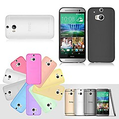 BIG D Ultra Thin Matte Back Case for HTC One M8(Assorted Color)