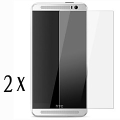 [2-Pack]Professional High Transparency LCD Crystal Clear Screen Protector with Cleaning Cloth for HTC M9