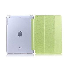 Couvertures intelligents ( Cuir PU , Noir/Vert/Bleu/Or/Rose ) - Couleur unie pour Pomme iPad mini/mini-iPad 2/mini iPad 3