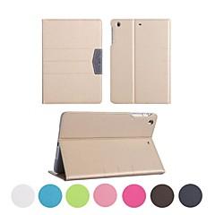 Helfarge/Spesielt Design - Bakdeksler/Smart Covers/Folio Cases - Eple iPad mini/iPad mini 2/iPad mini tre - ( PU / Lær ,
