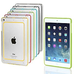 BIG D Colorful PC and TPU Transparent Bumper for iPad mini 3/iPad mini/iPad mini 2 (Assorted Color)