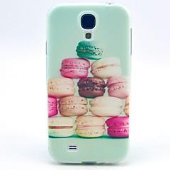 Bagside Cover - Samsung S4 I9500 - Grafisk/Gitter Mønster/Cartoon/Seje Kranier/Special Design - Samsung Mobil - ( Flerfarvet , Plastik/Silikone )