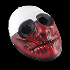 Payday 2 Wolf Resin Mask for Halloween Party(1 Pc)