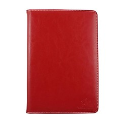 iPad mini 3/iPad mini/iPad mini 2 compatible Solid Color Genuine Leather Smart Covers