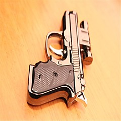 Personality Pistol Modelling Laser Lighters Silver