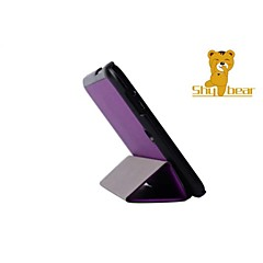 "urso tímido ™ 8 ""couro polegadas caso estande cobertura para fluxo hp 8 tablet"