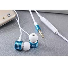 Apfel In-Ohr - Kopfhörer (Ohrstecker, Ohrstöpsel) ( Microfon/Lautstärkeregler/Ohrhörer/Rauschunterdrückung ) - Verkabelt