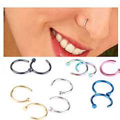 Fashion Stainless Steel  Nose Ring Body Jewelry Piercing(Random Color