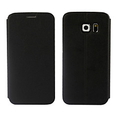 Ultrathin Leather Flip Cover Case for Samsung Galaxy S6 Edge