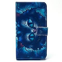 For Samsung Galaxy Note Pung Kortholder Med stativ Flip Etui Heldækkende Etui Tegneserie Kunstlæder for Samsung Note 4 Note 3