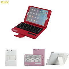kemile desmontable ab Wirele cae teclado bluetooth para el ipad Mini 3, Mini iPad 2, iPad mini (color aorted)