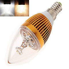 1 pcs  E14 12 W X High Power LED 350 LM 2800-3500/6000-6500 K Warm White/Cool White Candle Bulbs AC 85-265 V