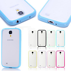 BIG D Matte Soft Bolder Case for Samsung Galaxy S4 I9500(Assorted Colors)