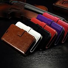 kortti lompakossa crazy horse rataa PU nahka koko kehon kotelo ja jalusta paikka alcatel yhdellä kosketuksella pop c7 (eri värejä)