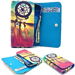 Dream Catcher Leather Wallet style Full Body Case and Card Slot for Iphone Mobile Size<12.8*6.8*2.1