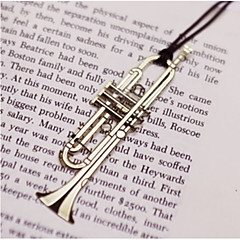 Trumpet Shaped Stainless Steel bookmark