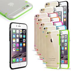 Για Θήκη iPhone 6 / Θήκη iPhone 6 Plus Φως LED που αναβοσβήνει / Εξαιρετικά λεπτή / Διαφανής tok Πίσω Κάλυμμα tok Μονόχρωμη Σκληρή PC