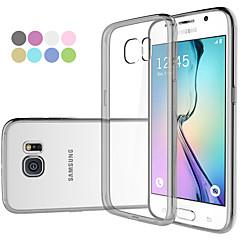 gym lyx akryl med TPU stötfångare Fodral till Samsung Galaxy s6 g9200 (diverse färg)