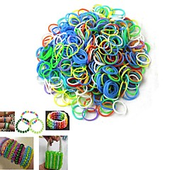 The  DIY The Rubber Band Weaving Bracelet (600pcs)