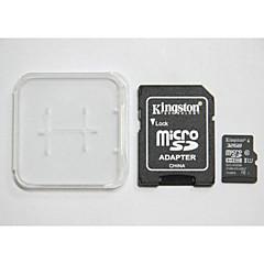 Original Kingston Digital 32 GB Class 10 Micro SD SDHC And The Memory Card And The Memory Card Adaptor Box