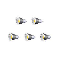 ZDM™ 5 PCS Bestlighting GU10 7 W 1 X COB 600 LM K Warm White/Cool White/Natural White PAR Par Lights AC 85-265 V