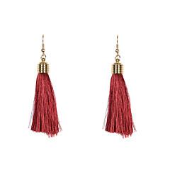 Fashion Women 5mm Thread Earrings