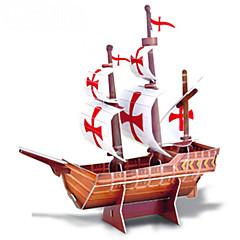 DIY legetøj hånd til at holde piratskib