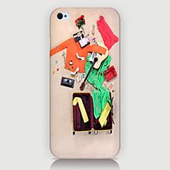 valise modèle arrière cas pour iPhone5 / 5s