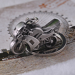 Motorbike Keychain 3D Simulation Model Motorcycle Key Chain Ring