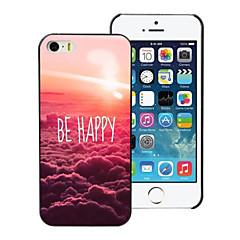 olla onnellinen muotoilu pc kova kotelo iPhone 4 / 4s