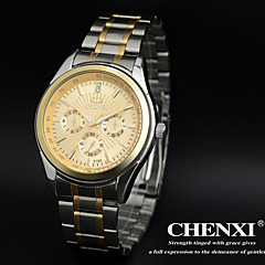 CHENXI® Men's Elegant Design Dress Watch Japanese Quartz Water Resistant Steel Strap Cool Watch Unique Watch