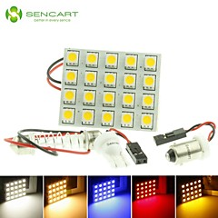 T10  BA9S SV8.5 G4 LED  4W 20X5050SMD LED 220LM  Blue/Red/Warm White/Yellow/White  for Car Light Bulb  (DC12-16V)