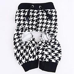 Gatos / Perros Pantalones Negro Ropa para Perro Verano Boda / Cosplay
