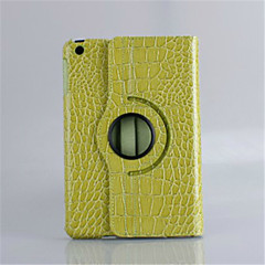 Crocodile Skin Pattern PU Leather 360⁰ Cases Smart Cover for iPad 2/iPad 3/iPad 4 (Assorted Colors)