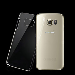 Transparent PC Back Cover Case for Samsung Galaxy S6 G9200