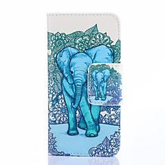 caso de telefone pintura do elefante para iPhone 5 / 5s