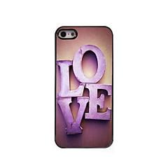 The Love Design Aluminum Hard Case for iPhone 5/5S