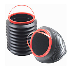 coleção de carros shunwei® multi-função 4l flexível balde de água sem tampa / storage