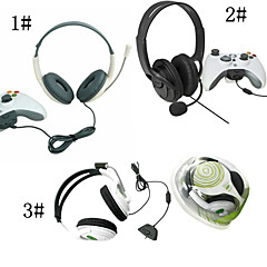 mit Microsoft Xbox 360 Headset w / Mikrofon-kompatibel