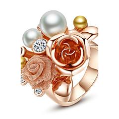 Statementringen Parel Legering Modieus verklaring Jewelry Sieraden Feest 1 stuks