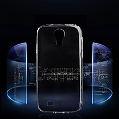Transparent Back Case Cover for Samsung Galaxy S4 I9500