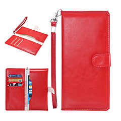 Common Crazy Horse Pattern Wallet-type Phone Holster for iPhone 6 5/5S 4/4S 5C(Assorted Colors)