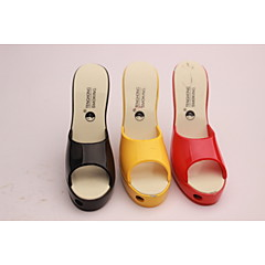Creative Women's High-heeled Shoes Lighter Lighter Color Slippers Assorted Colors
