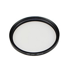 gpe 58mm mc-uv flerlagsbelagt filtre for canon nikon