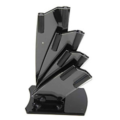 "Simple ABS Knife Holder for 3"" / 4"" / 5"" / 6"" Ceramic Knife - Black"