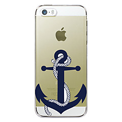 For iPhone 7 etui / iPhone 7 Plus etui / iPhone 6 etui / iPhone 6 Plus etui / iPhone 5 etui Mønster Etui Bagcover Etui Anker Hårdt TPU for